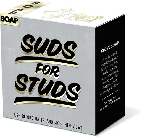 Molly & Rex - Suds for Studs - Soap