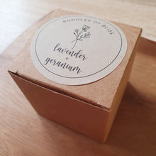 Load image into Gallery viewer, Lavender & Geranium Bath Bomb