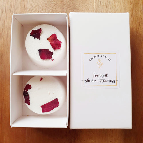 Tranquil Shower Steamers Twin Pack