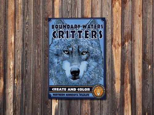 Boundary Waters Critters - Create & Color Book