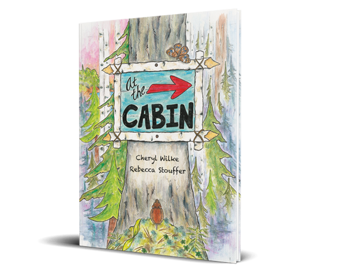 At The Cabin Softcover Legacy Bound
