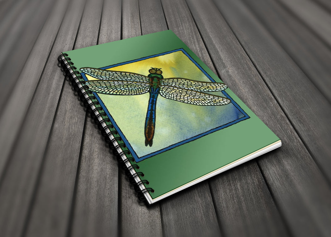 Go Wild! Blank Journal - Dragonfly