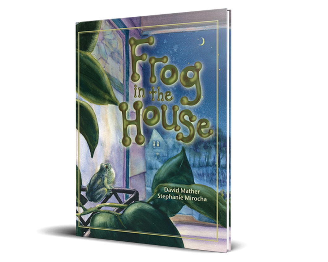 Frog in the House - Softcover