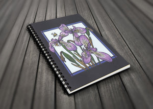 Go Wild! Blank Journal - Iris & Bee