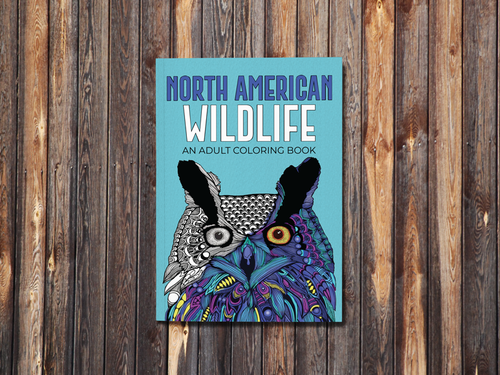 North American Wildlife - An Adult Coloring Book