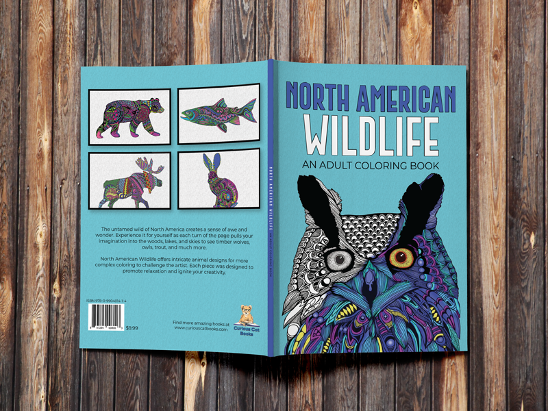 North American Wildlife - An Adult Coloring Book – Legacy Bound