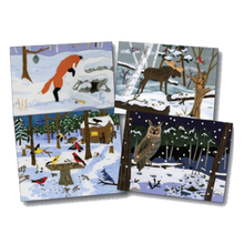 Load image into Gallery viewer, Notecards Gift Pack - Winter Wildlife