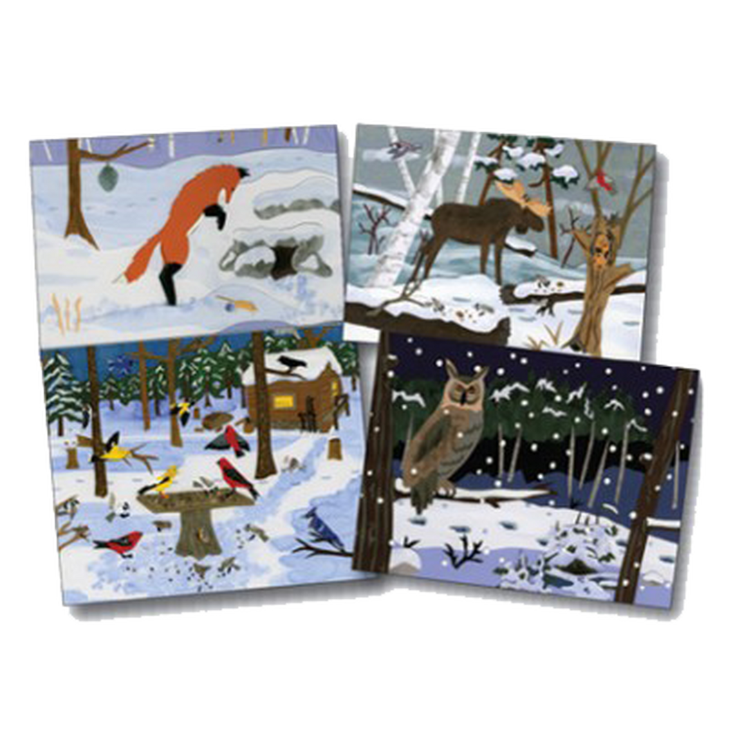 Notecards Gift Pack - Winter Wildlife