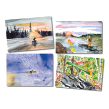 Load image into Gallery viewer, Notecards Gift Pack - Wilderness Paddler