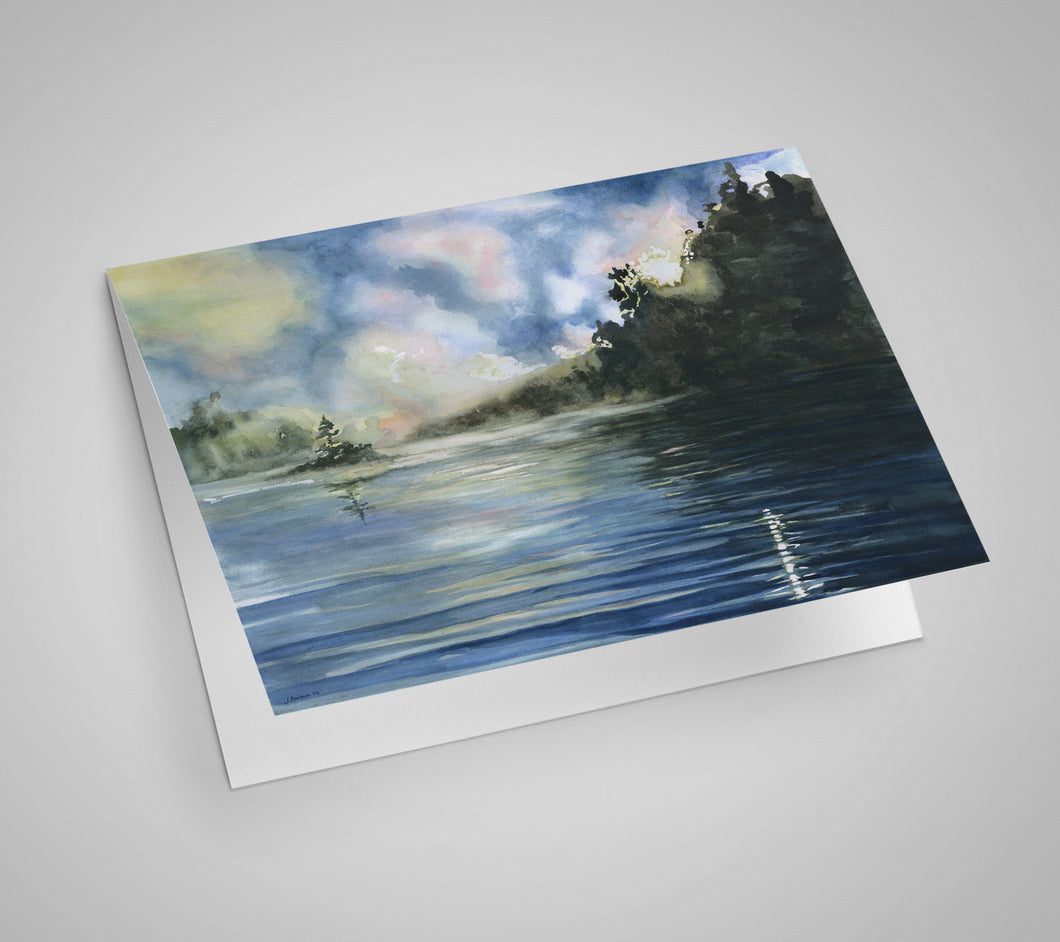 Pickerel Lake Blank Card