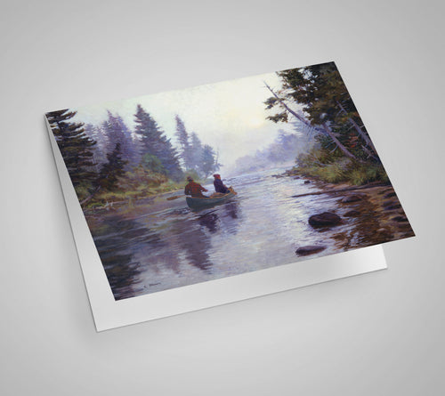 The Water Road Blank Card