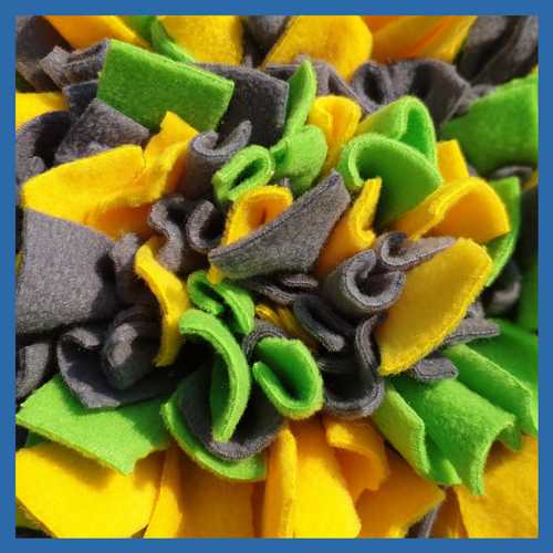 Hand Made Snuffle Mat Enrichment Toy