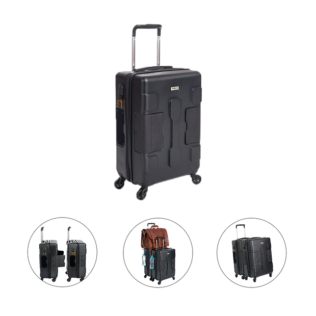 attachable suitcases