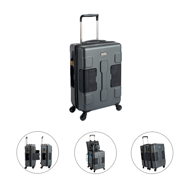 connectable suitcases