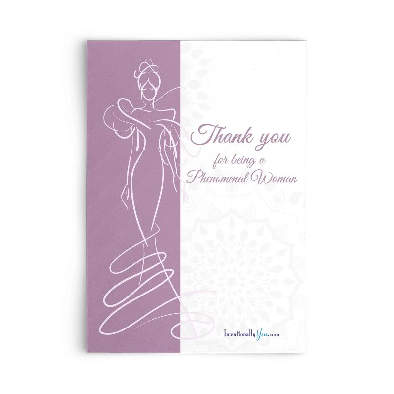 Phenomenal Woman Inspiration Cards