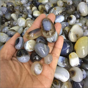 100g Tumbled Agate Gemstones