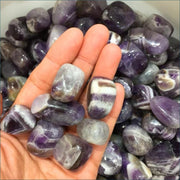 100g Tumbled Dream Amethyst Gemstones