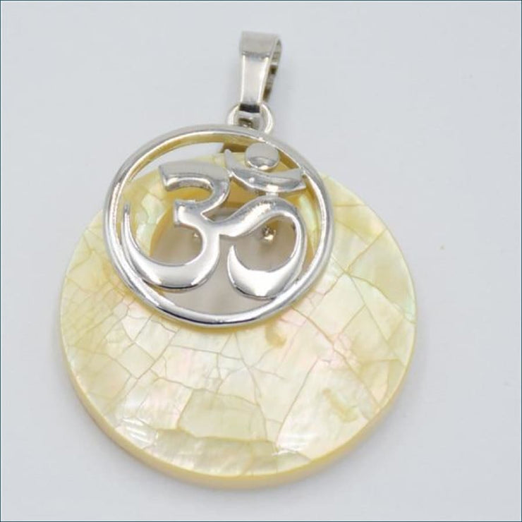 Abalone Calming Spirit Charm(Free Promo Shipping) - Yellow Shell