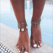 Boho By the Sea Vintage Ankle Bracelet