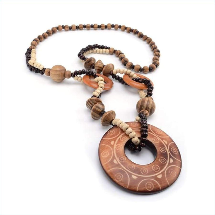 Boho Exotic Wood Pendant FREE SHIPPING TODAY ONLY