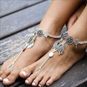 Boho Vintage Antique Ankle Bracelet