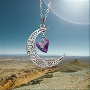Calming Crescent Moon Pendant FREE SHIPPING TODAY ONLY!