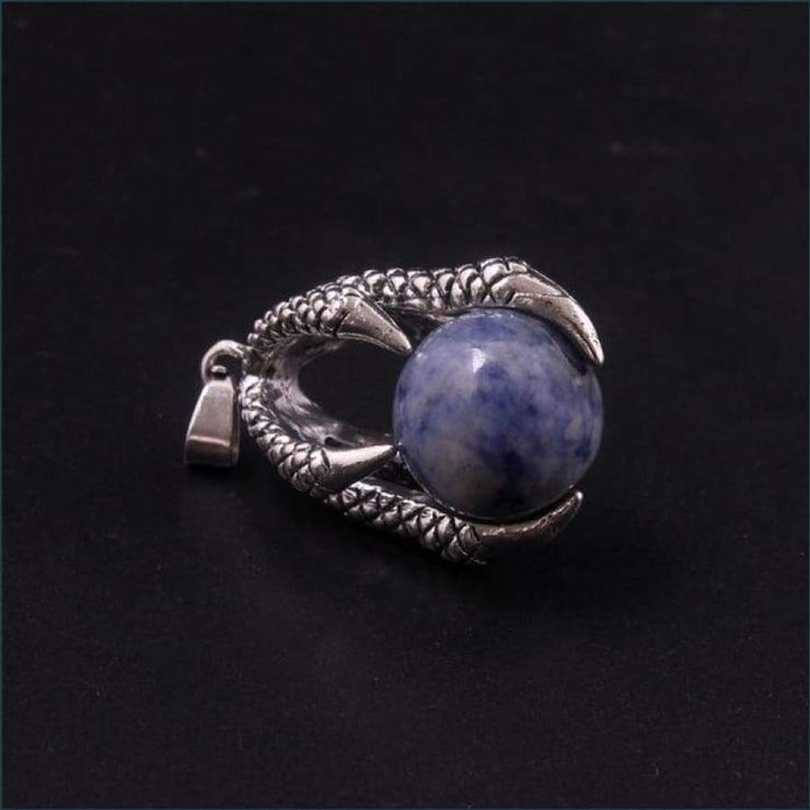 Dragon Claw Orb Pendant FREE SHIPPING TODAY ONLY! - Sodalite