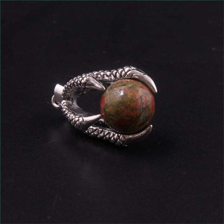 Dragon Claw Orb Pendant FREE SHIPPING TODAY ONLY! - Unakite