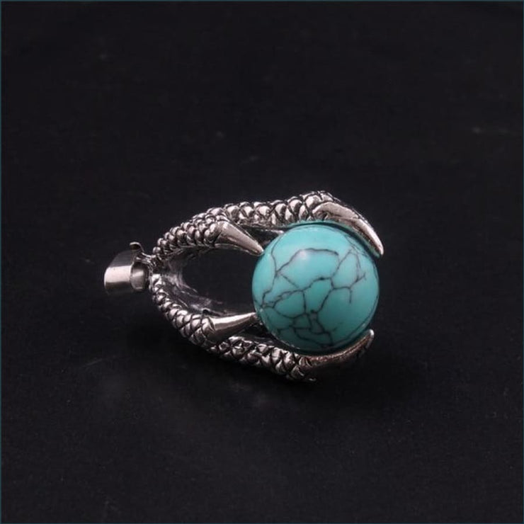 Dragon Claw Orb Pendant FREE SHIPPING TODAY ONLY! - Green Turquoise