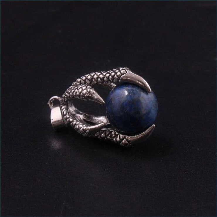 Dragon Claw Orb Pendant FREE SHIPPING TODAY ONLY! - Lapis Lazuli