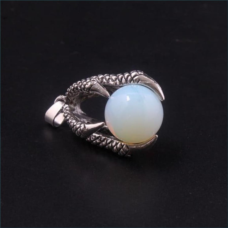 Dragon Claw Orb Pendant FREE SHIPPING TODAY ONLY! - Opalite