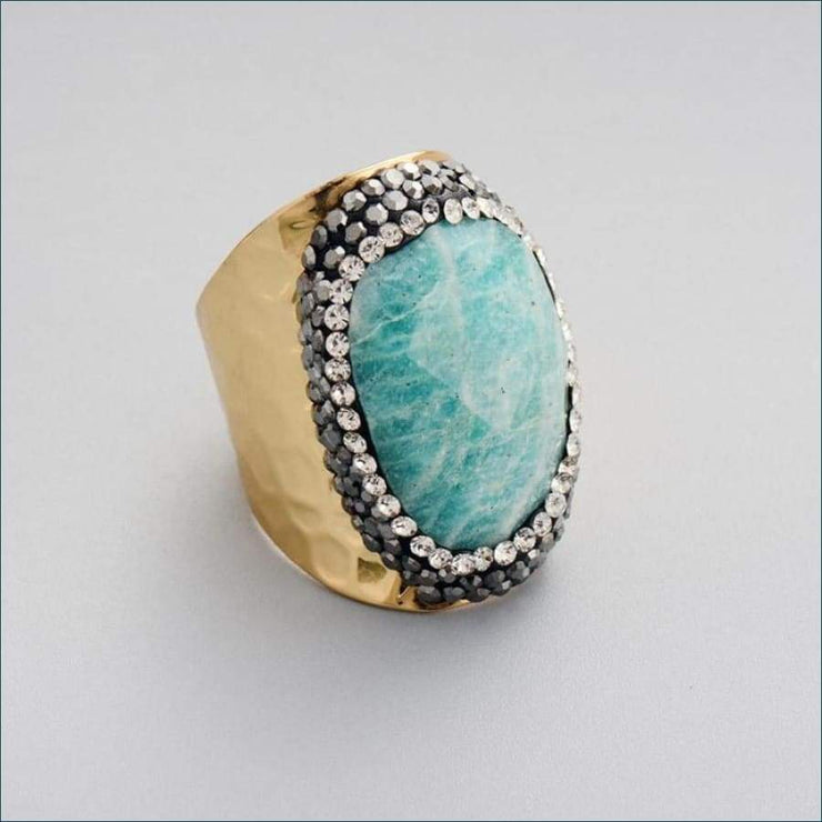 Earthvibe Amazonite Ring