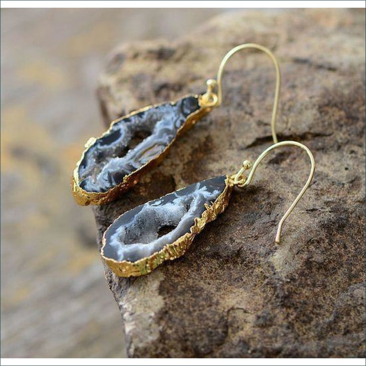 Earthvibe Druzy Earrings