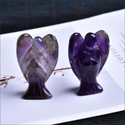 Natural Crystal Angel Calming Stone Free Shipping TODAY ONLY! - Amethyst Angel / 40x27x15 mm