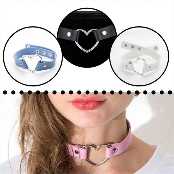 Trendy Vintage Heart Choker FREE SHIPPING TODAY ONLY!