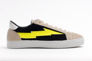 Thunderbolt Bicolor Black-Brown-Yellow