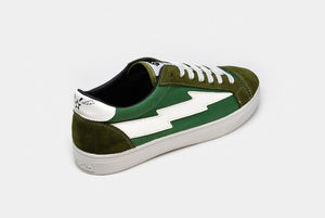Thunderbolt Classic Dark Green-White