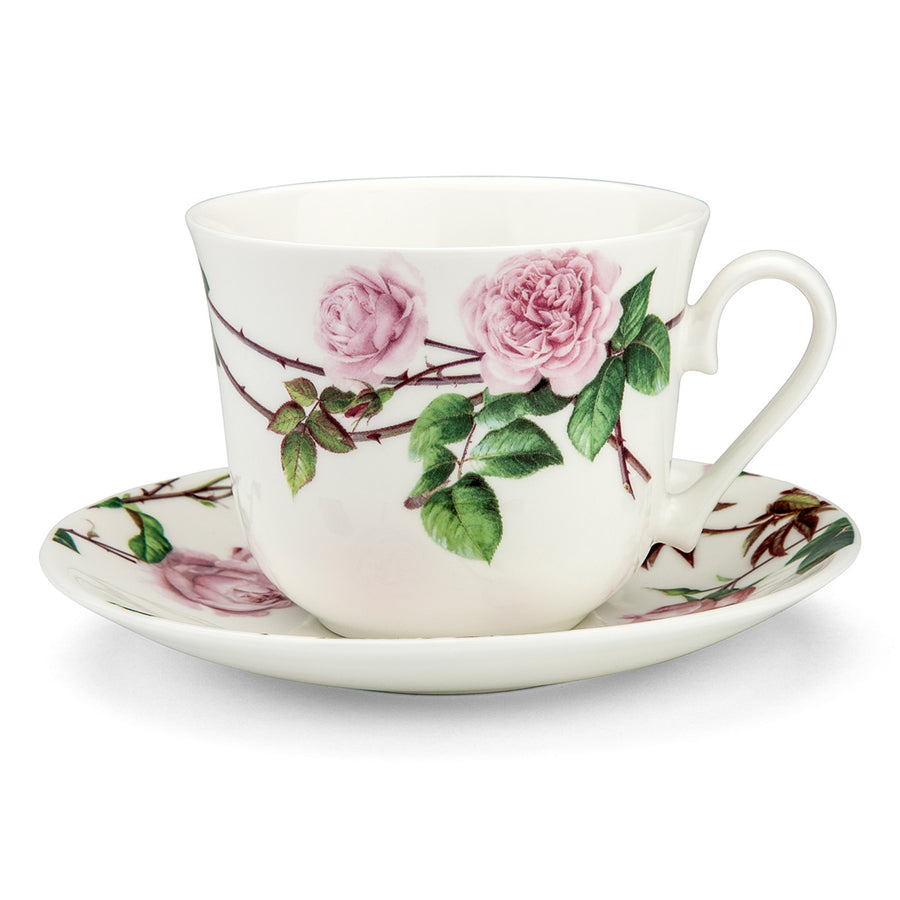English Rose Breakfast Cup and Saucer