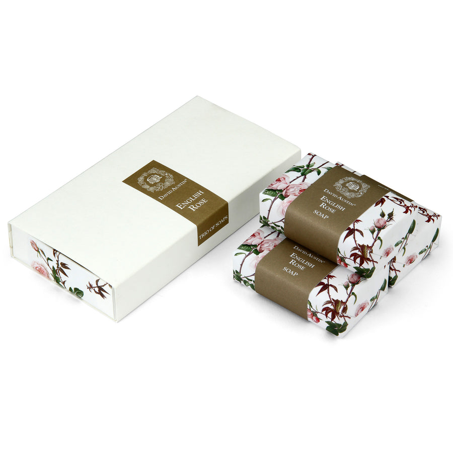English Rose Trio of Soaps Gift Set