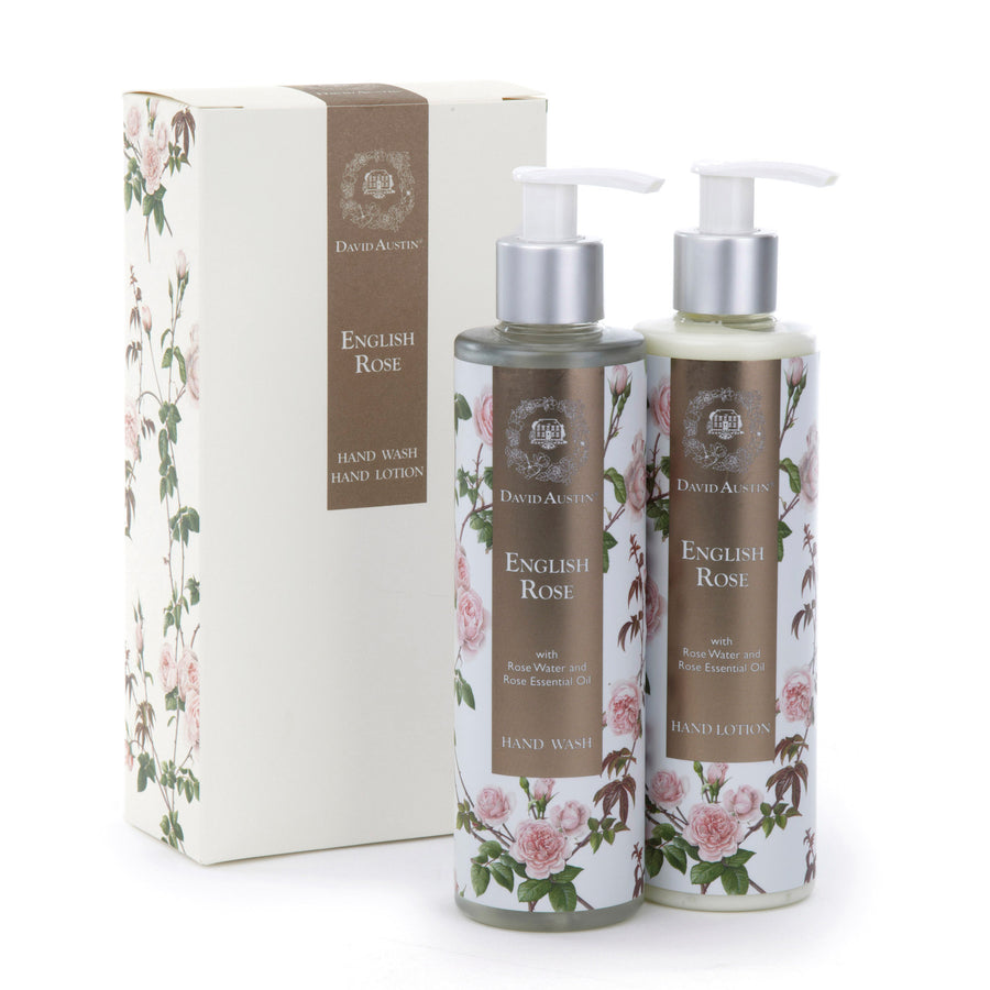 English Rose Hand Wash and Lotion Gift Set