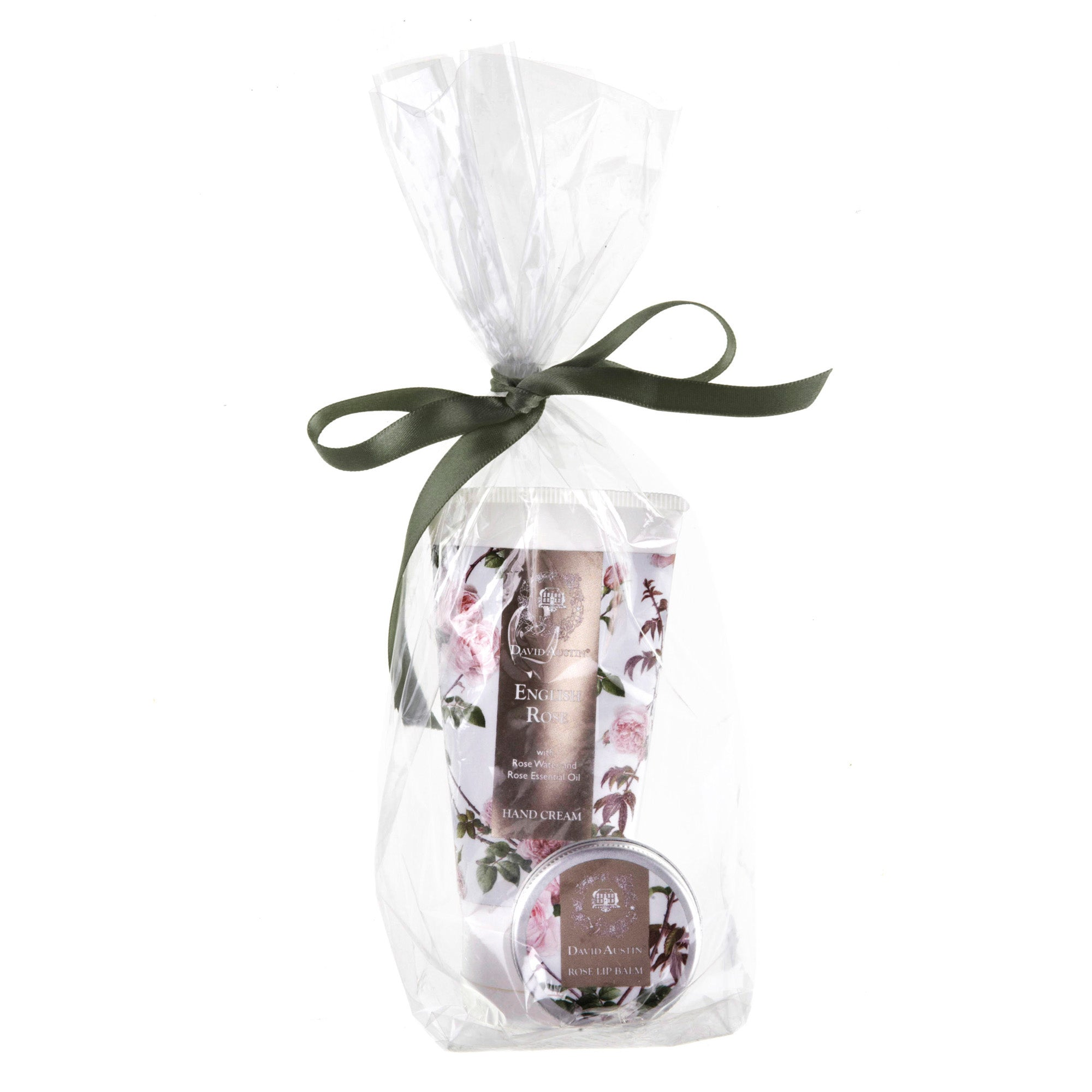 English Rose Hand Cream and Lip Balm Gift Set