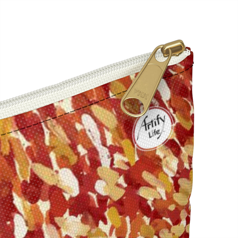 Artify Life™ CORAL BLOOM Painted Pouch