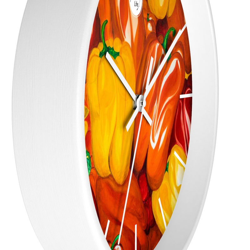 Artify Life™ PEPPERS Wall clock