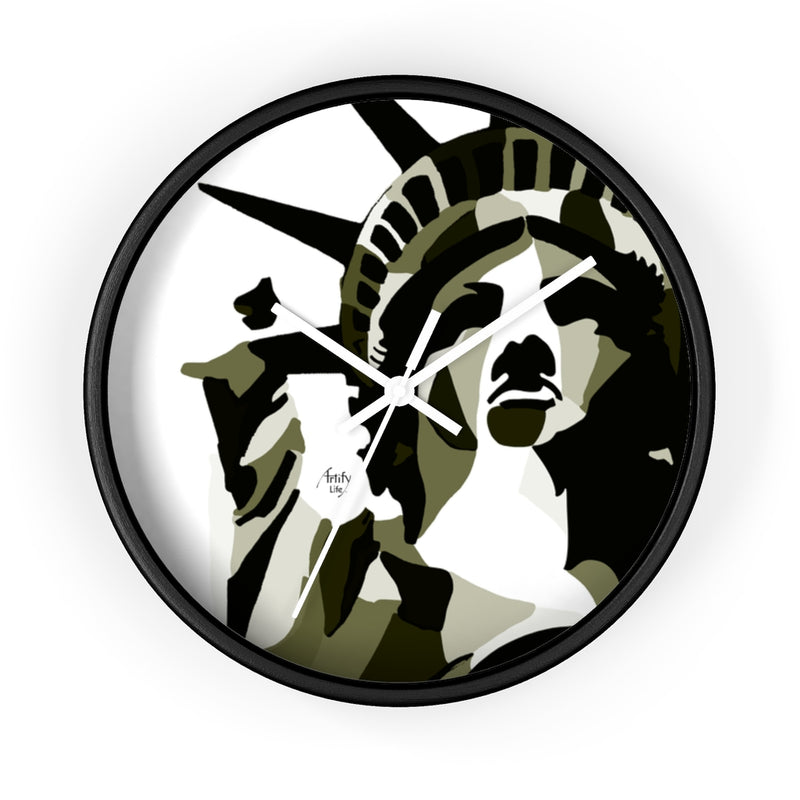 Artify Life™ LIBERTY Sepia Wall clock