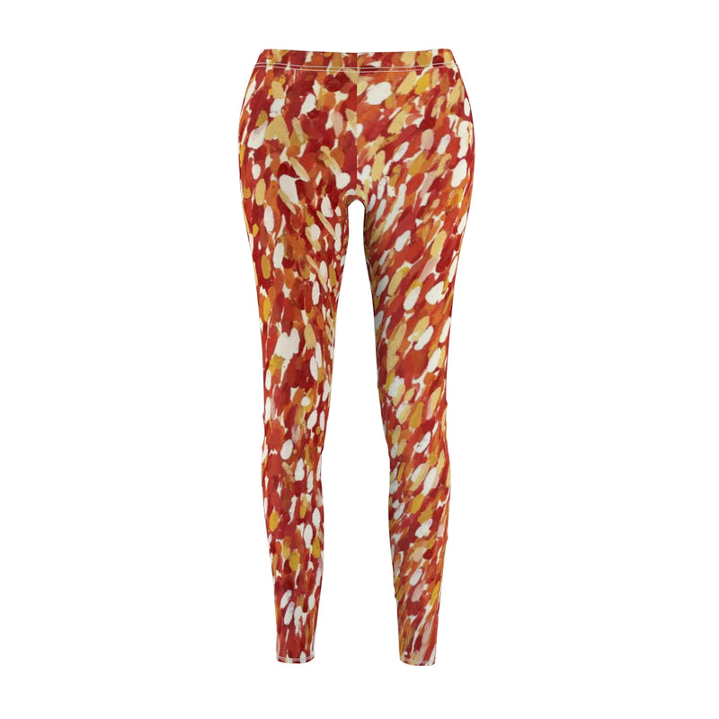 Artify Life™️ CORAL BLOOM Leggings