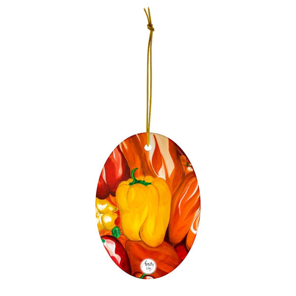 Artify Life™ PEPPERS Ornament