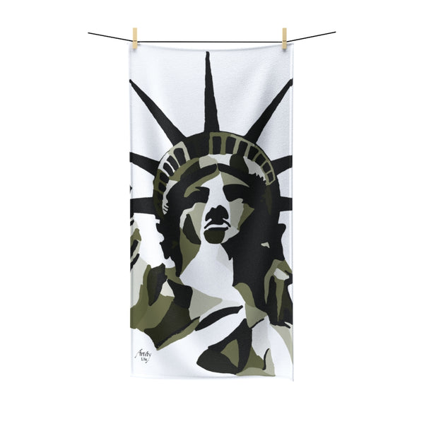 Artify Life™ LIBERTY Sepia Beach Towel