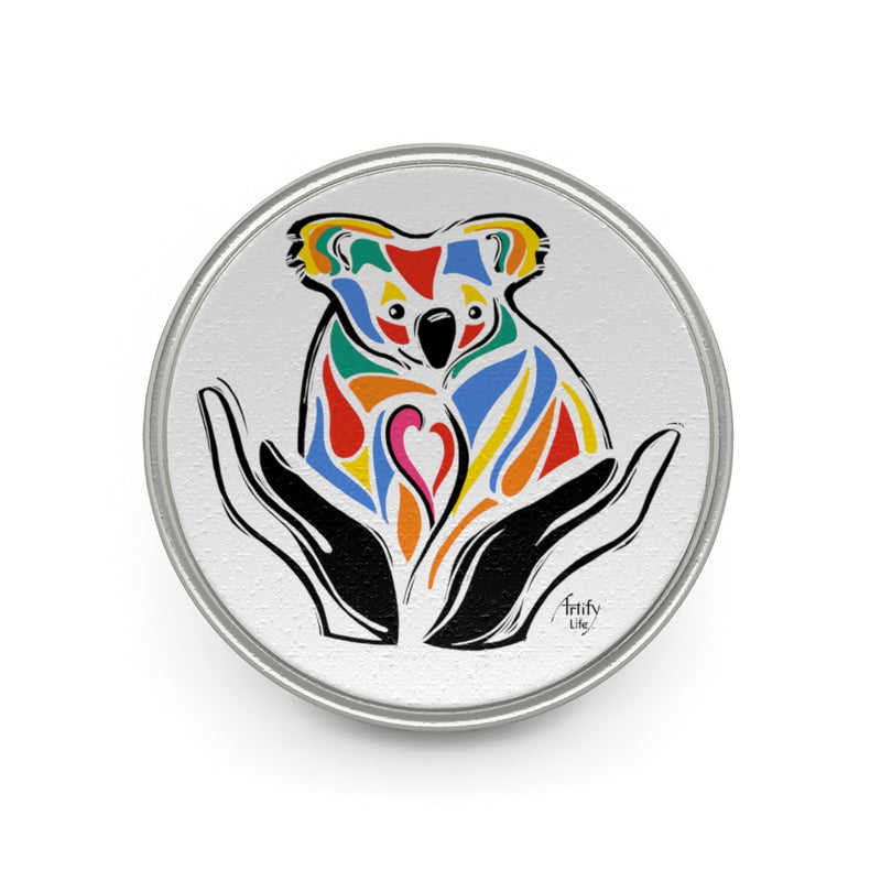 Artify Life™ SUPPORT AUSTRALIA Pewter Pin