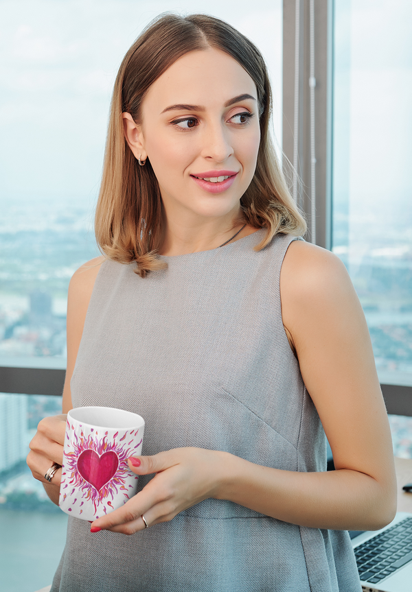 Artify Life™ HEARTS ON FIRE Mug