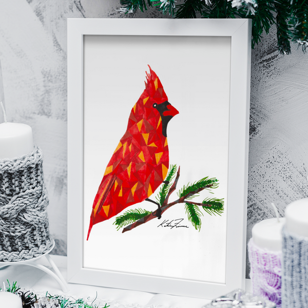 CARDINAL - Signature Edition Art Print